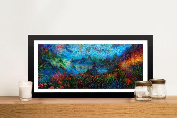 Stormy Splendor - Dragon Ember Pop Art