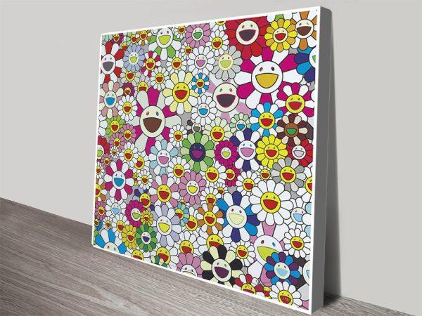 Beautiful Anime Wall Art Flowers Blooming In This World By Takashi Murakami