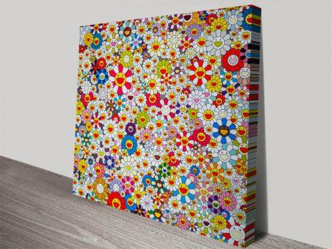 Oeuvres Principales Takashi Murakami Wall Art Ready To Hang
