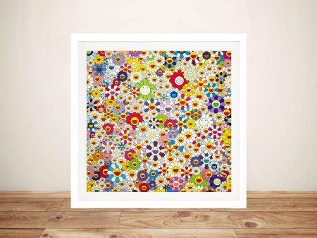 Flower Ball Wall Art By Takashi Murakami