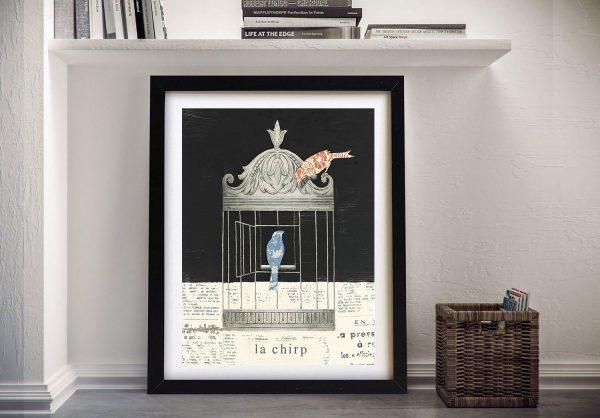 La Chirp By Emily Adams Wall Prints