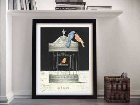 La Tweet By Emily Adams Wall Art Online