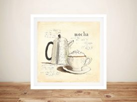 Parisian Coffee l By Emily Adams Modern Vintage Wall Art