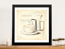 Parisian Coffee lV By Emily Adams Wall Art