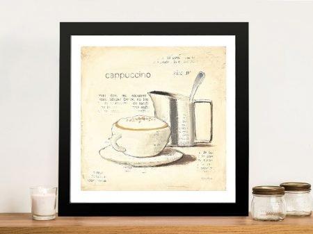 Parisian Coffee lV By Emily Adams Wall Art