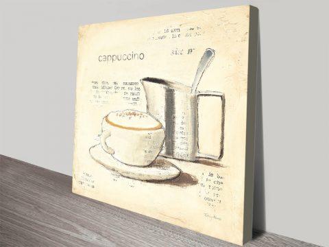 Parisian Coffee IV Buy Canvas Prints