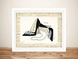 From Emily's Closet lV By Emily Adams Canvas Prints