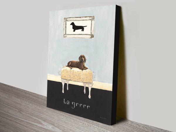 La Grrr By Emily Adams Canvas Printers Online