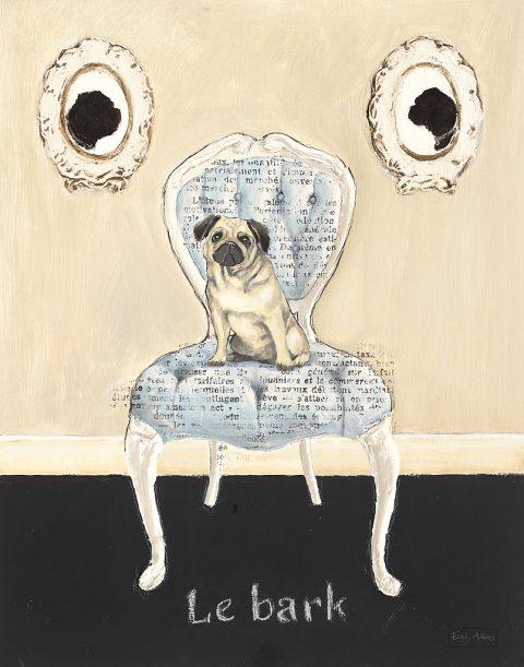 Le Bark By Emily Adams Cheap Wall Art