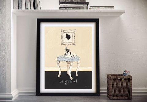 La Growl By Emily Adams Discount Canvas Prints