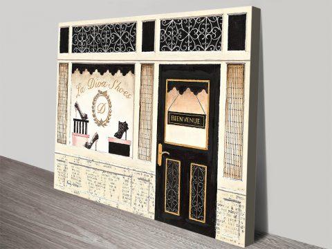 La Diva Shoes Order Canvas Prints By Emily Adams Online