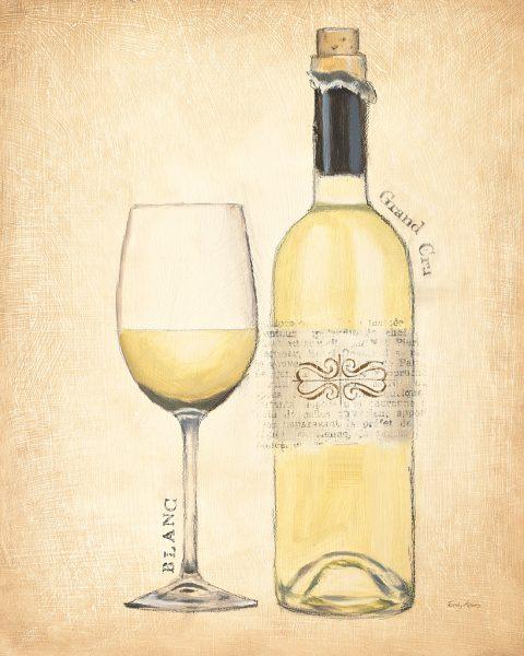 Grand Cru Blanc Discount Art Prints By Emily Adams