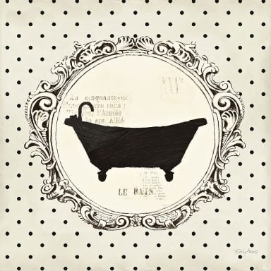 Buy Cartouche Bath Affordable Canvas Wall Art Online