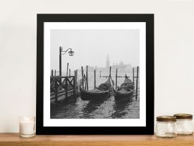 Morning In Venice Canvas Photo Printing