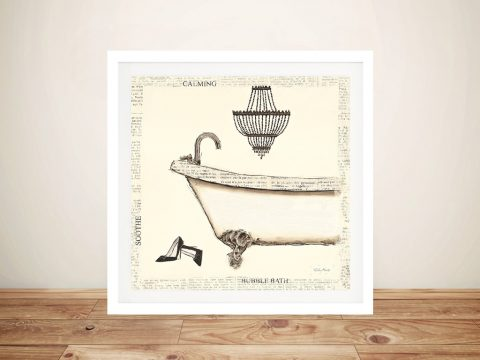 Emily's Boudoir l Bath By Emily Adams Cheap Wall Art