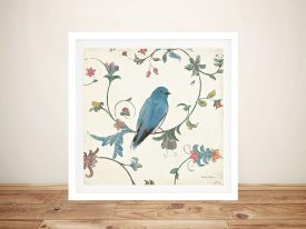 Birds Gem l By Emily Adams Wall Art Prints