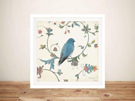 Birds Gem l By Emily Adams Wall Art Prints