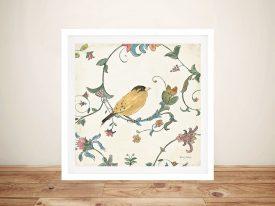 Birds Gem lll By Emily Adams Best Wall Art