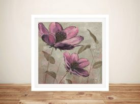 Plum Floral ll By Emily Adams Best Canvas Prints
