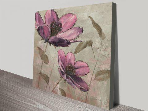 Plum Floral II Fantastic Gift Ideas Online