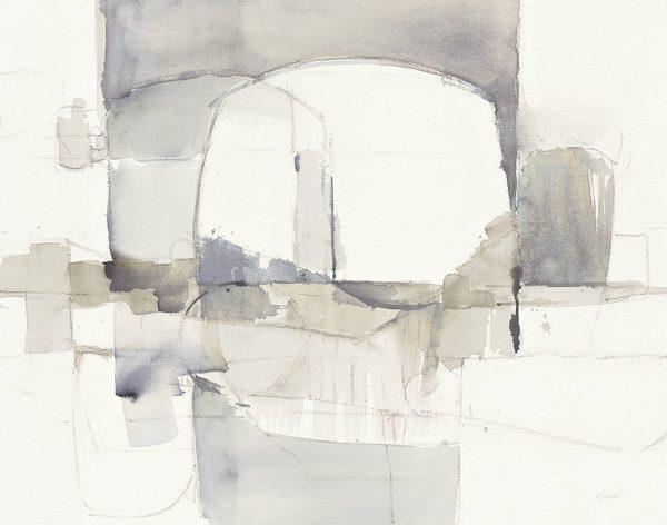 Improvisation I Gray Crop By Mike Schick Art Prints Online
