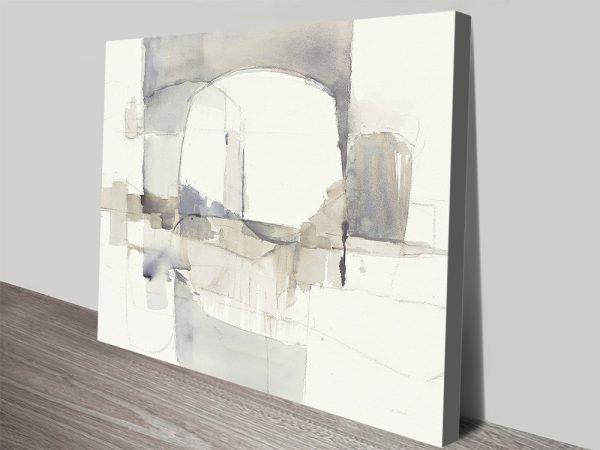 Improvisation I Gray Crop Wall Pictures Online
