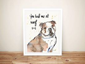 Strike A Paws l By Anne Tavoletti Wall Prints