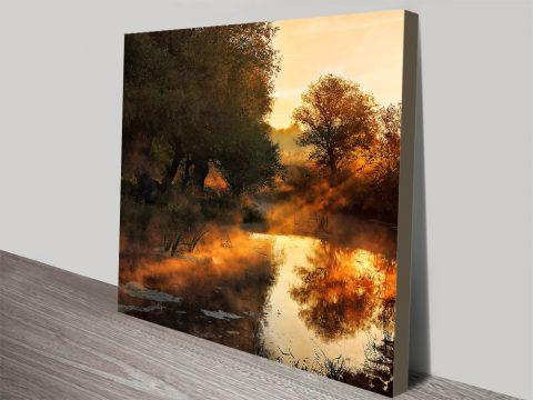 When Nature Paints With Liquid Light Canvas Prints Online