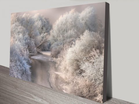 Winter Song Art Canvas Prints
