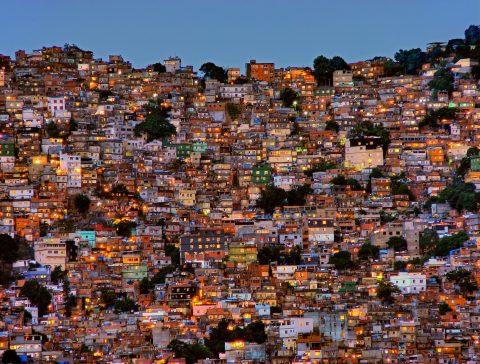 Nightfall in the Favela da Rocinha Discount Art Prints Online