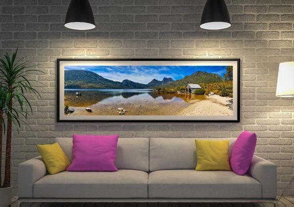 Buy Dove Lake Stunning Panoramic Wall Art