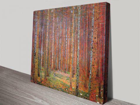 Tannenwald Klimt Classic Art Prints Online