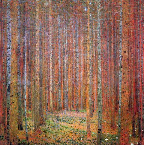 Klimt Tannenwald Stunning Classical Framed Art Prints