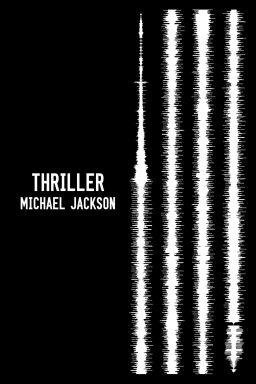 Michael Jackson Soundwave Wall Art