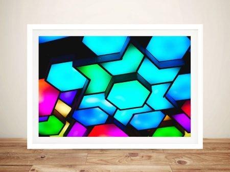 Futuristic Colour Photo Prints