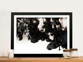 The Rorschach Photo To Canvas