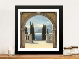 Italian Balcony By James Wiens Wall Art