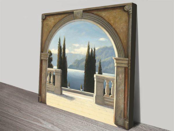 Italian Balcony By James Wiens Online Wall Art