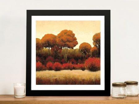 Autumn Forest II By James Wiens Wall Art