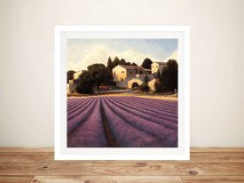 Lavender Fields By James Wiens Artwork