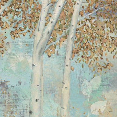 James Wiens Golden Forest II Canvas Artwork Australia