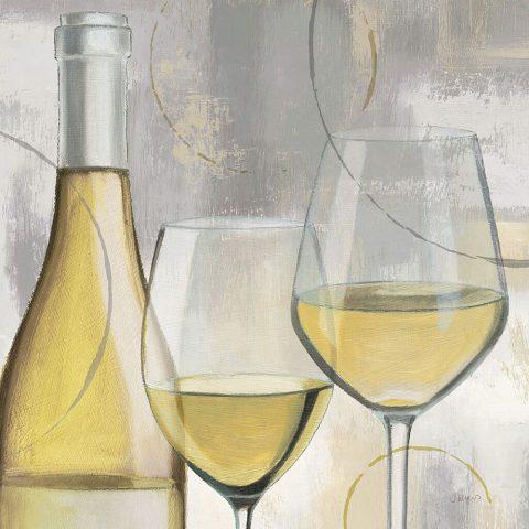 James Wiens Taste Appeal White II Wall Art Australia