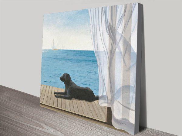 Blue Breeze III James Wiens Painting Prints On Canvas