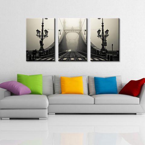 The Bridge 3 Panel Artwork