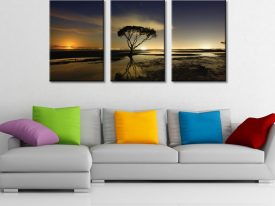 Moonrise Triptych Panel Set