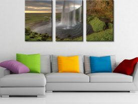 The Curtain Triptych 3 Piece Wall Art