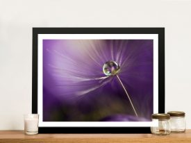 In Shades Of Purple Large Canvas Prints