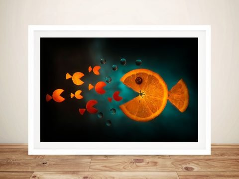 Orange Fish By Aida Ianeva Wall Art