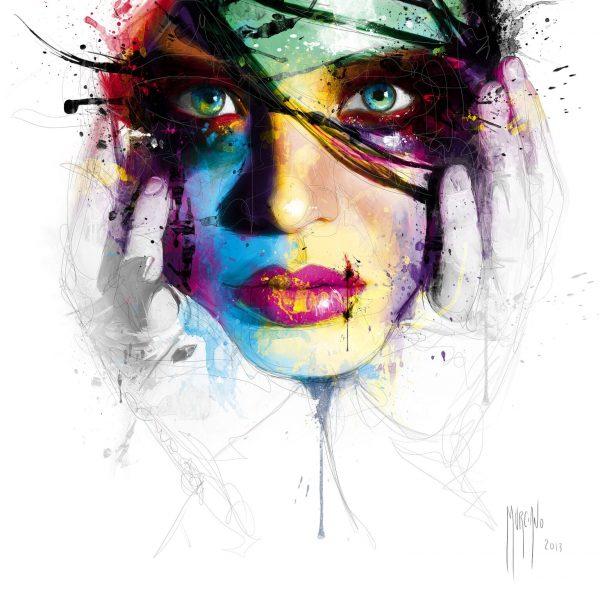 Coralie by Patrice Murciano Canvas Artwork Australia