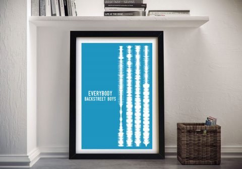 Everybody - Soundwaves Canvas Art
